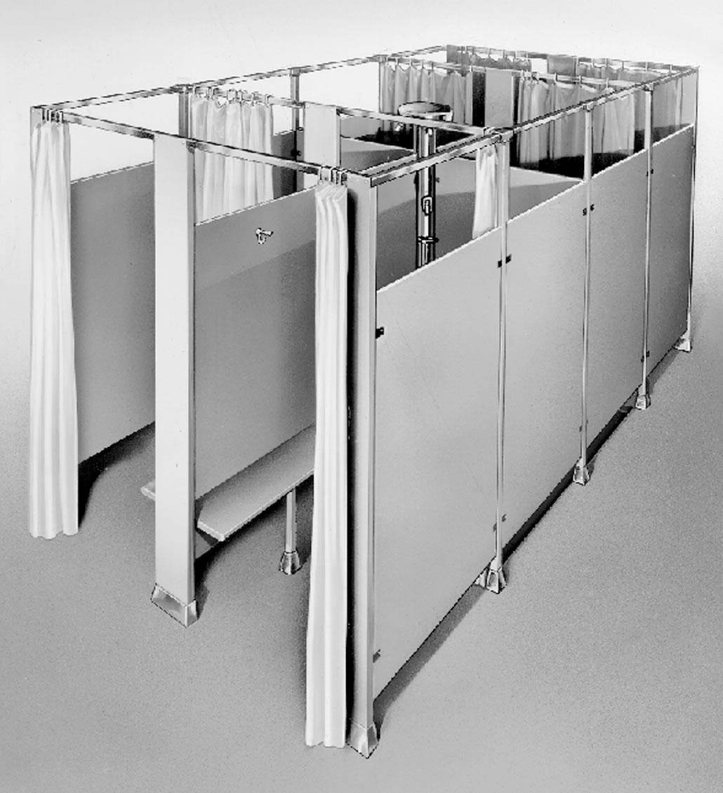 Bradley modular shower stalls