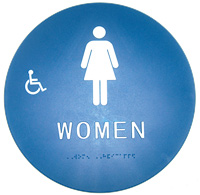 Womens Title 24 Restroom Sign
