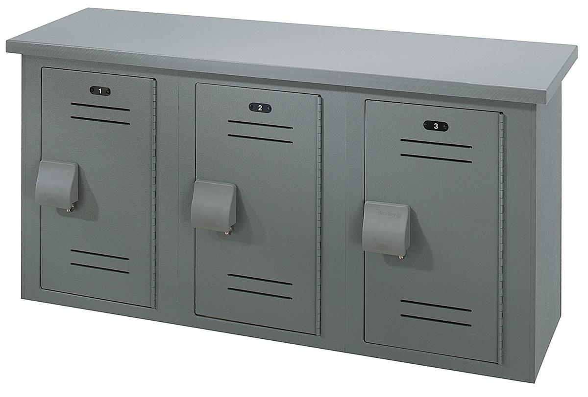 Lb60 Bradley Washroom Equipment 60 Locker Bench