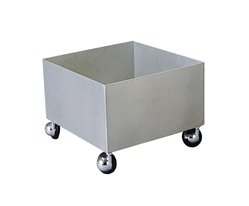 S19-690A STAINLESS STEEL TRANSPORT CART