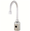 S53-326 - DC Gooseneck Faucet - Centershank Mounting - Plug-In Adapter not included